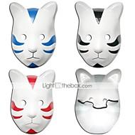 Mask Inspirirana Naruto Cosplay Anime Cosplay Pribor Mask PVC Muškarci Žene vruć