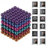 cheap -Magnet Toy Building Blocks / Neodymium Magnet / Magnetic Balls 216pcs 5mm Magnet Magnetic Gift