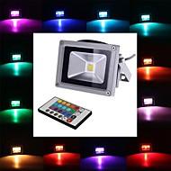 baratos Focos-1pç 4 W / 10 W 450-700 lm 1 Contas LED LED Integrado Controle Remoto RGB 85-265 V