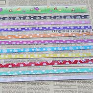 9 culori materiale origami stea norocoasă (45 de pagini)