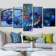Canvas Set Abstract Klassiek Modern,Vijf panelen Horizontaal Print Art Muurdecoratie For Huisdecoratie