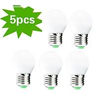 billige Globepærer med LED-400 lm E26/E27 LED-globepærer G45 27 leds SMD 3022 Dekorativ Varm hvit AC 220-240V