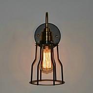 Vegglampe Nedlys 110-120V 220-240V E26/E27 Land Maleri