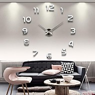 cheap Summer Sale-Modern / Contemporary Acrylic Novelty Indoor,AA Wall Clock