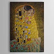 Hand-Painted Abstract Famous People Vertical,Classic Modern Traditional One Panel Oil Painting For Home Decoration