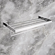 cheap Stainless Steel Series-Towel Bar High Quality Contemporary Stainless Steel 1 pc - Hotel bath Double