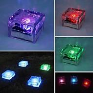 Solar Imitated Crystal Glass LED Light Garden Deck Lamp