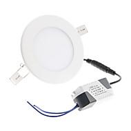 billige Innfelte LED-lys-500-550 lm Taklys 30 leds SMD 2835 Kjølig hvit AC 85-265V