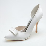 Svart / Blå / Rosa / Lilla / Elfenbenshvit / Hvit / Sølv - Bryllup sko - Dame - Hæler / Spiss tå - høye hæler - Bryllup / Fest/aften