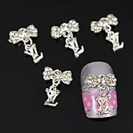 10pcs takı kolye aksesuarları diy sopa tırnak sanat dekorasyon alaşımlı