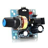 386 mini módulo amplificador de áudio para arduino - azul claro (5 ~ 12v)