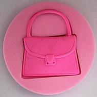 bolsa fondant ferramentas de silicone bolo bolo molde decoração, l7cm * * w7cm h1.3cm