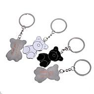 billige Kontor Supply & Dekorasjoner-personlig gave bjørn metall gravering par nøkkelring