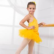 billige Udsalg-Dansetøj til børn Trikoter Træning Bomuld Applikeret broderi Sløjfe(r) Uden ærmer