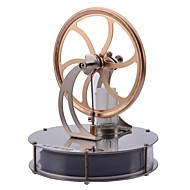 cheap Educational Toys-LJKGDQ Low Temperature Engine Motor Model Stirling Machine Science & Exploration Sets Educational Toy Toys Fun Aluminium Kid's Pieces