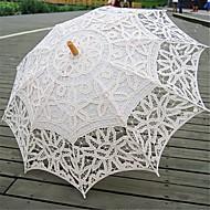 "billiga Brudparaplyer-Posthandtag Bröllop Paraply Paraplyer 30.7""(ca. 78cm)"
