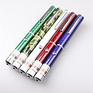 lt-8884 jediný zelený laser ukazovátko pero (1mw.532nm.2xaaa.5-color)
