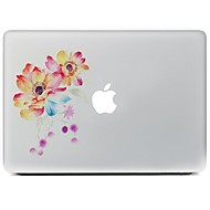 o adesivo de pele decorativo flor para macbook air / pro / Pro com tela retina