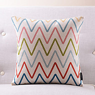 cheap Pillow Covers-1 pcs Cotton/Linen Pillow Cover, Text Country