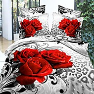 cheap Duvet Covers-Betterhome Duvet Cover Duvet Cover Set 3Dactivity Dyeing Painting Fastness Thicken Warm 4Pcs