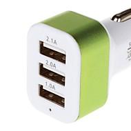 nabíjení série 5.1a 3 USB nabíječka do auta adaptér
