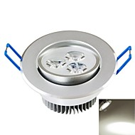 billige Innfelte LED-lys-SENCART 300-350lm Taklys Innfelt retropassform 3PCS LED perler COB Dekorativ Naturlig hvit 85-265V / CE / FCC