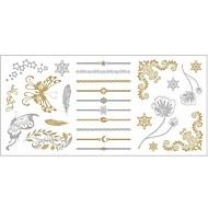#(1) Tatouages Autocollants Séries de totem MotifHomme Femelle Adulte Adolescent Tatouage Temporaire Tatouages temporaires