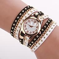 Dámské Módní hodinky Náramkové hodinky Křemenný Z umělé kůže Černá / Bílá Analogové Černobílá Jeden rok Životnost baterie / Jinli 377