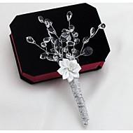 פרחי חתונה פרחי דש חתונה חתונה/ אירוע סאטן גביש