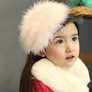 cheap Kids' Accessories-Girls' Hair Accessories, All Seasons Wool Headbands - White Pink
