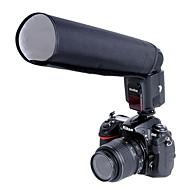 godox® sammenleggbar snoot til kamera (svart)