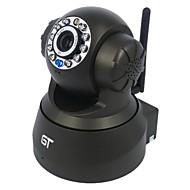 gt utsikt pan tilt trådløs overvåking bevegelsesvarsling lyd innendørs p2p ip kamera