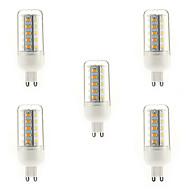 tanie Więcej Kupujesz, Więcej Oszczędzasz-5szt 4 W 350-400 lm G9 Żarówki LED kukurydza T 36 Koraliki LED SMD 5730 Ciepła biel 220-240 V / 5 sztuk