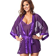 cheap Sexy Costumes-Uniforms Cosplay Costume Women's Festival / Holiday Halloween Costumes Purple Pink Sexy Uniforms Pajamas