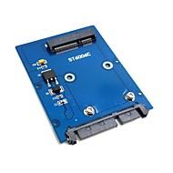 """slank type mini pci-e mSATA SSD til 2,5 """"SATA 3.0 22pin hdd adapter harddisk PCBA"""