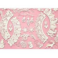 tanie Formy do ciast-cztery c mata do pieczenia ciasta koronki Mata silikonowa forma do ciasta dekoracji, silikonowa mata kremówki kolor różowy tort narzędzia