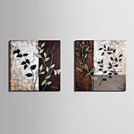 e-Home® venytetty kankaalle taidetta lehtikuvio koristemaalausta sarja 2