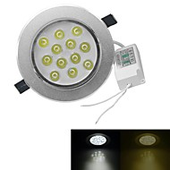 cheap LED Recessed Lights-3000-3200/6000-6500 lm 12 leds High Power LED Warm White Cold White AC 100-240V