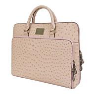 Kate&Co.® Women's Fashion Classic Ostrich grain Laptop Bag briefcase