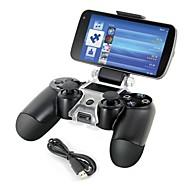 pametni telefon montirati nosač držač za pohranu + kabel za punjenje za PS4 kontroler gamepad