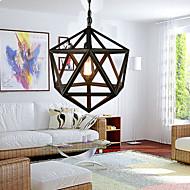 billiga Belysning-Geometriskt Ljuskronor Fluorescerande - stearinljus stil, 110-120V / 220-240V Glödlampa inte inkluderad / 5-10㎡ / E26 / E27