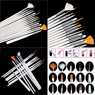 15pcs Nail Acrylic Brush Neglebørster Negle kunst Manicure Pedicure Træ / Nylon / Metal Klassisk Daglig / Børster