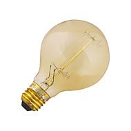 お買い得  LED電球-YouOKLight 40W 3200-3300 lm E26/E27 LEDボール型電球 B 1 LEDの COB 装飾用 温白色 AC 110〜130V AC 220-240V