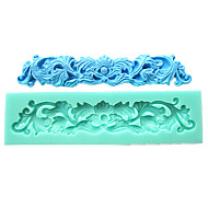 Gum Paste Lace Border Fondant Cake Molds Chocolate Mould For The Kitchen Baking Sugar Cake Decoration Tool