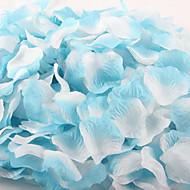 100 stk gradient farge kunstig rose petal for dekorasjon fest bryllup