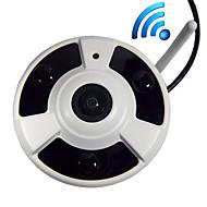 billige IP-kameraer-Dag Nat/Motion Detection/Dobbeltstrømspumpe/Fjernadgang/IR-klip/Wi-Fi Beskyttet Setup/Plug and play Mini - Innendørs - IP-kamera