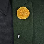 """Χαμηλού Κόστους Λουλούδια-Λουλούδια Γάμου Μπουκέτα / Μπουτονιέρες / Άλλα Γάμου / Πάρτι / Βράδυ Υλικό / Σατέν / Μεταλλικό 3,15 """" (περ.8εκ) / 0-20 ίντσες"""