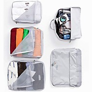 cheap Storage & Organization-Textile Oval Travel Home Organization, 1pc Storage Bags