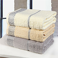 Frisk stil Badehåndkle Overlegen kvalitet 100% Bomull Håndkle