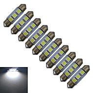 0.5W 60 lm Feston Dekorationslampe 3 leds SMD 5050 Kold hvid DC 12V